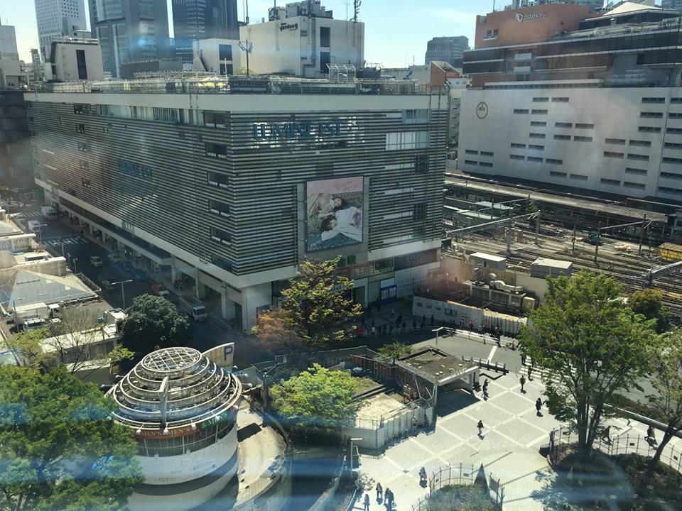眺望のご紹介:新宿東口