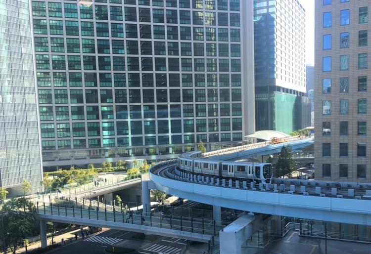 ワクスタからの眺望・鉄道編/汐留シティセンター