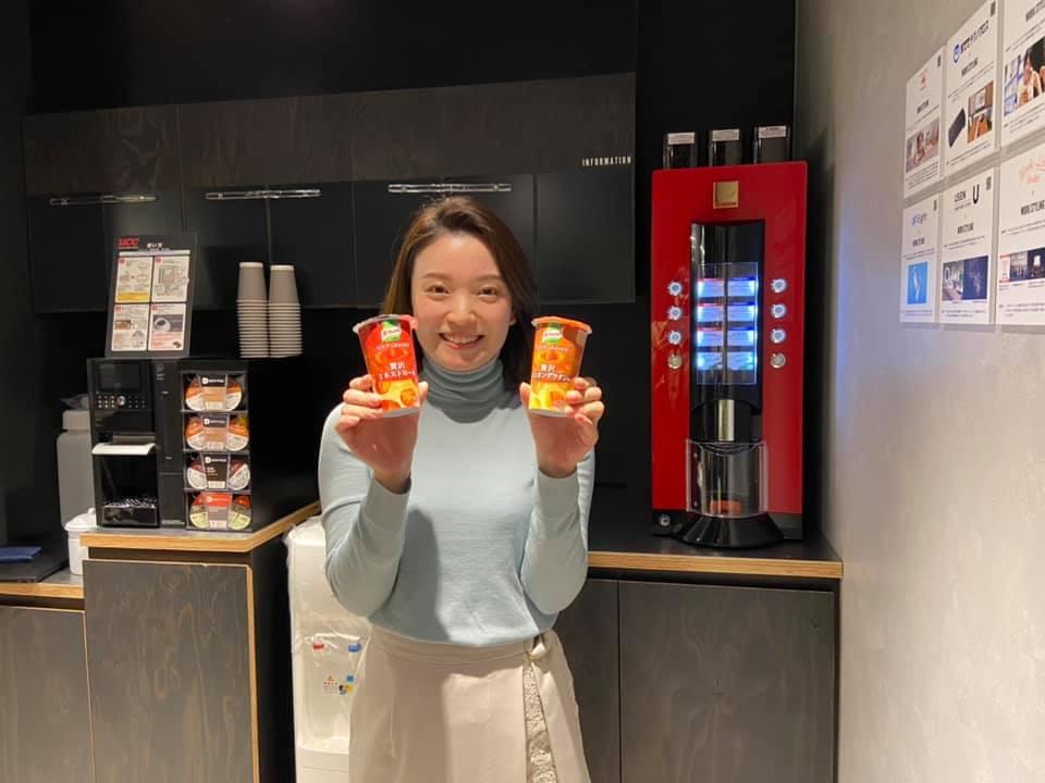 拠点の魅力紹介!日本橋三井タワー編 ④味の素さんによる、カフェコーナー