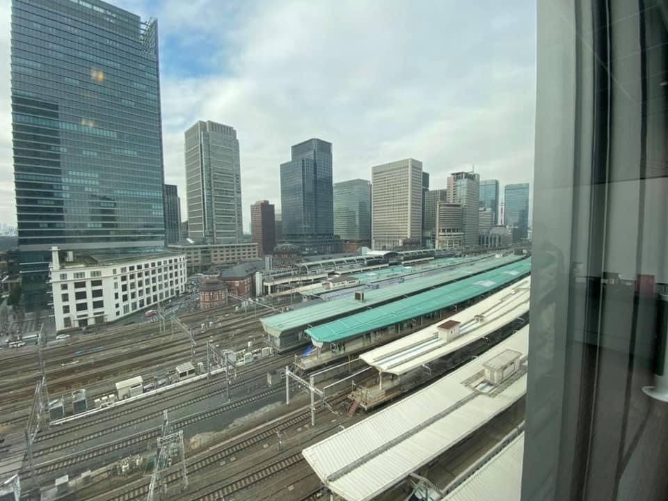 ワクスタからの眺望・鉄道編/八重洲