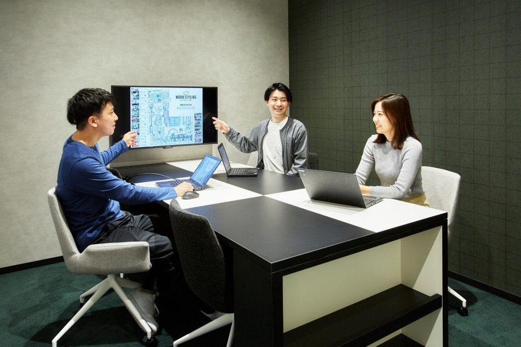 ワークスタイリング六本木一丁目の魅力紹介:多彩な会議室
