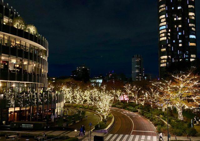 東京ミッドタウンのイルミネーション!