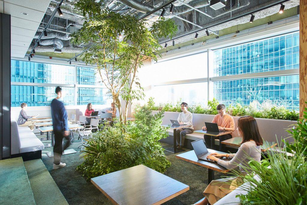 ワークスタイリング六本木一丁目の魅力紹介:開放感溢れるオープンスペース