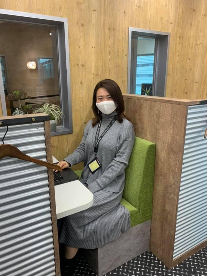 私のお気に入り席紹介@汐留シティセンター