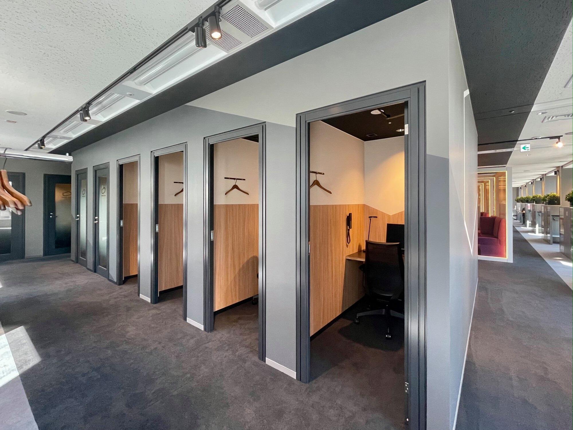 新宿三井ビル拠点、個室数を12室増設!