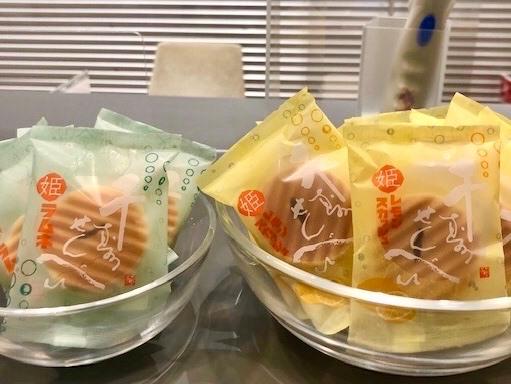 ららテラス武蔵小杉拠点では新商品のお菓子を置いています!